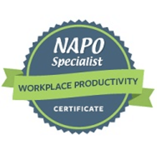 NAPO Specialist Certificate – Workplace Productivity issued by NAPO to Miriam Ortiz y Pino